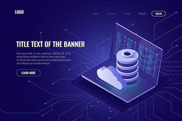Stockage de données dans le cyberespace et dans le nuage
