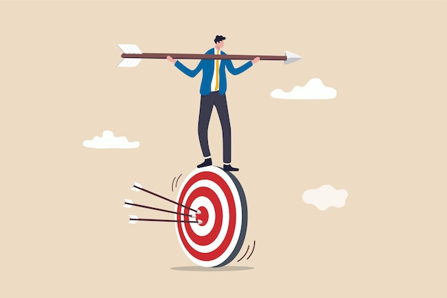 Stratégie commerciale axée sur les résultats ou concept axé sur les résultats.