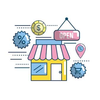 Stratégie commerciale de commerce électronique et de technologie