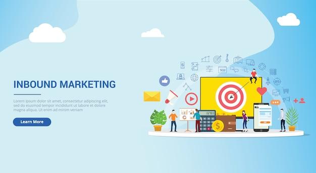Stratégie de concept de marketing entrant
