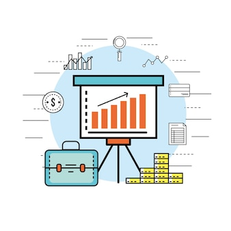 Stratégie d'entreprise financière pour l'économie d'entreprise