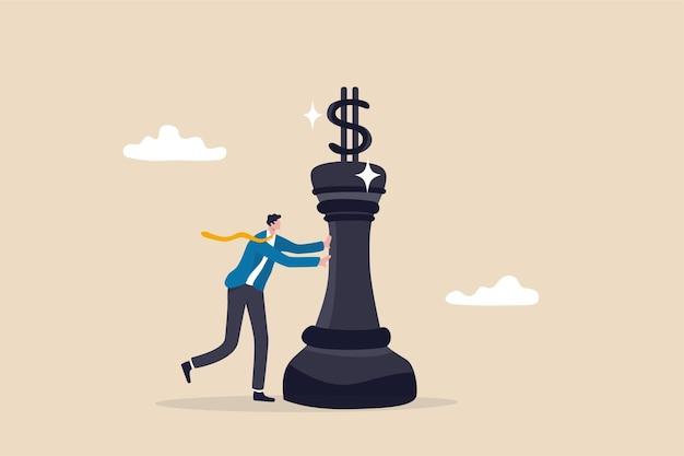 Stratégie d'investissement, planification financière ou stratégie de marketing et de tarification.