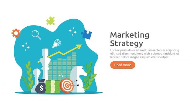 Stratégie de marketing et concept de retour sur investissement