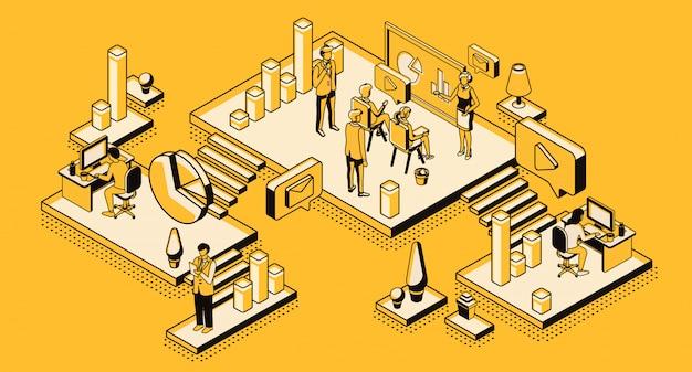 Stratégie marketing, entreprise d'analyse financière