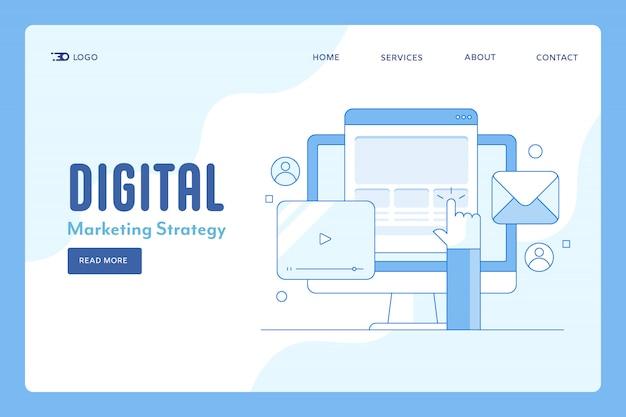 Stratégie de marketing numérique