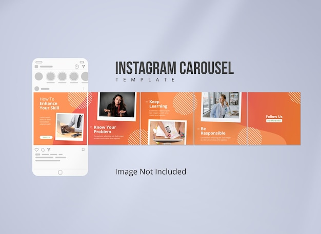 Stratégie marketing pour instagram carousel post