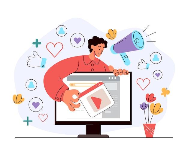Stratégie de programme de recommandation de marketing viral internet communication en ligne