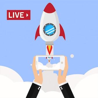 Streaming vidéo sur smartphone