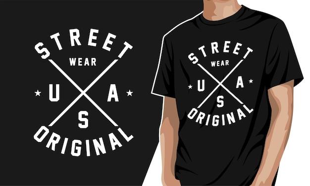 Street wear - t-shirt graphique