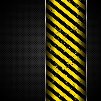 Stripes plus de metal background