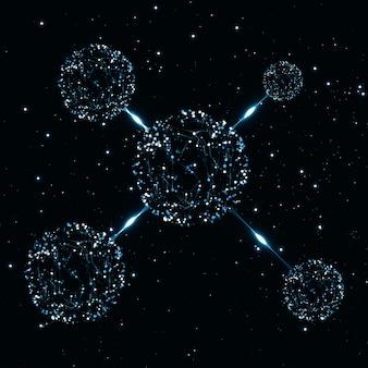 Structure abstraite moléculaire