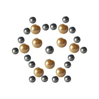 Structure de la molécule pour la conception graphique médicale