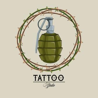 Studio de tatouage old school