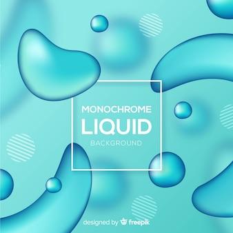 Style 3d abstrait de formes fluides