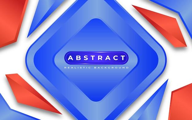 Style 3d moderne abstrait