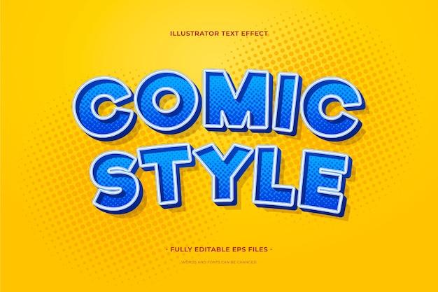 Style bande dessinée effet texte