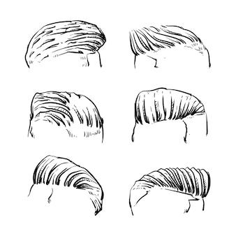 Style de cheveux des hommes