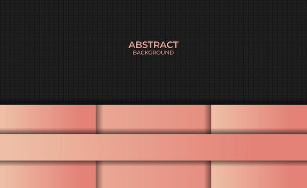 Style design abstrait dégradé sur fond couleur orange