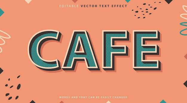 Style d'effet de texte entièrement modifiable