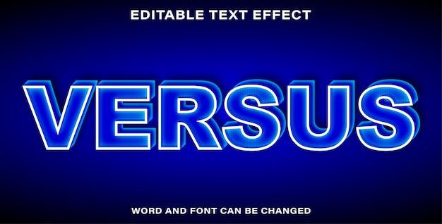 Style d'effet de texte par rapport à