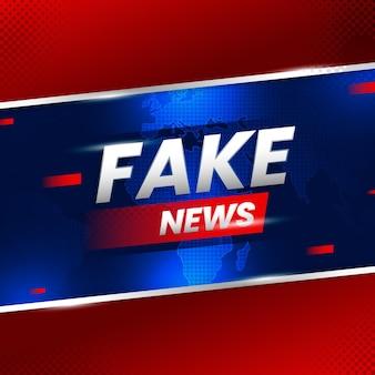 Style de fond de fausses nouvelles