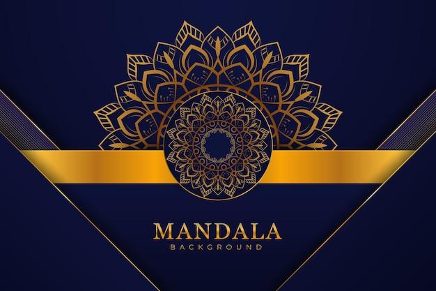 Style de fond de mandala élégant