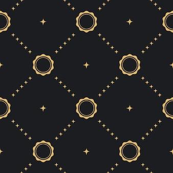 Style de fond sans couture baroque. papier peint textile antique victorien,
