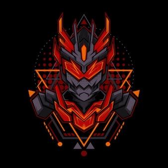 Style de géométrie dark fire ranger