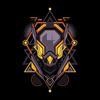 Style de géométrie du projet humanoïde