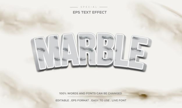 Style de marbre à effet de texte modifiable