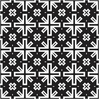 Style minimal de motif géométrique abstrait