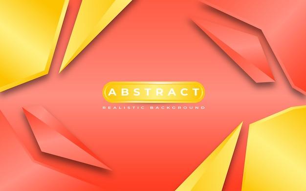 Style de modèle de fond abstrait 3d