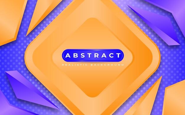 Style de modèle moderne abstrait