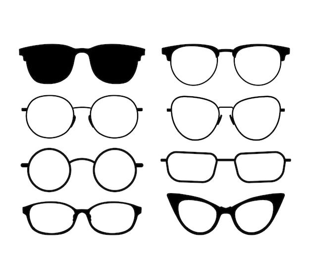Style de monture de lunettes