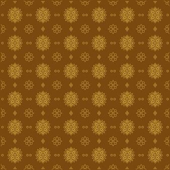 Style de motif floral sans couture vintage