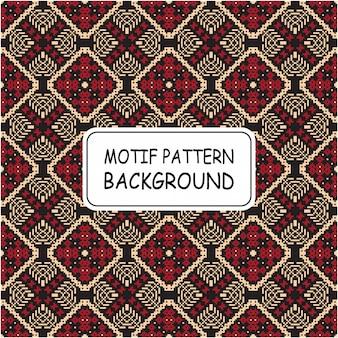 Style de motif de motif ethnique