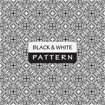 Style de motif noir et blanc