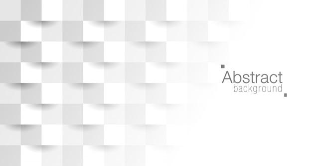 Style de papier 3d abstrait.