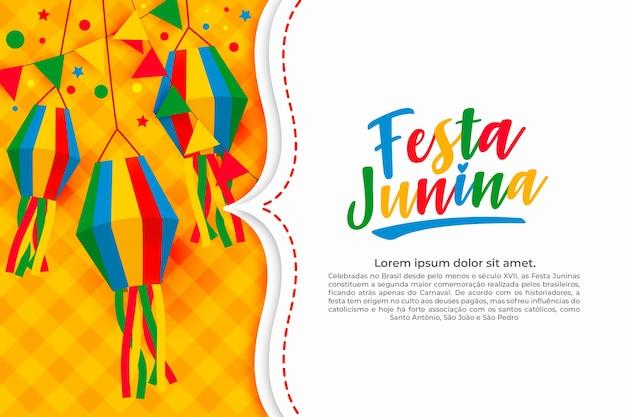 Style plat du festival de juin