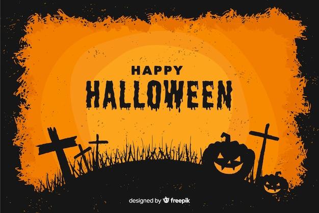 Style plat de fond décoratif halloween
