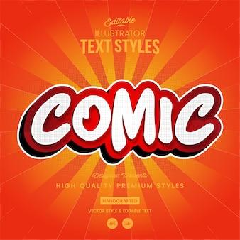 Style de texte des bandes dessinées