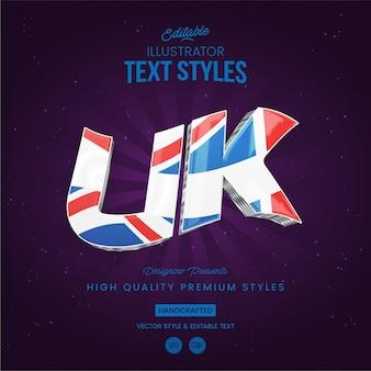 Style de texte britannique
