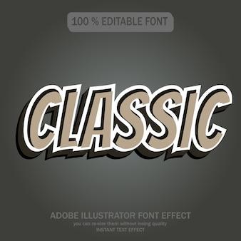 Style de texte classique