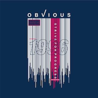 Style urbain, texte de slogan typographie de conception de t-shirt graphique
