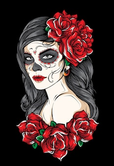 Sugarskull girl