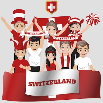 Suisse equipe nationale supporter