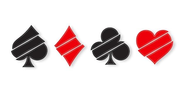 Suit le jeu de cartes à jouer.