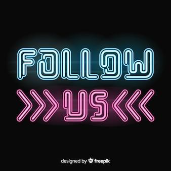 Suivez nous en arrière plan