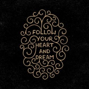Suivez votre coeur et rêvez en style vintage