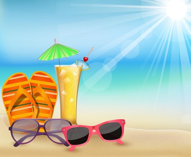 Summertime à la plage
